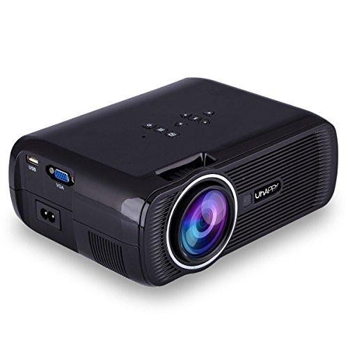 Uhappy U80 3000 Lumens LED Mini Proyector, Full HD...