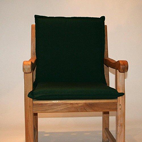 Destiny Auflage GRÜN für Niederlehner für Gartensessel für Teaksessel Sessel