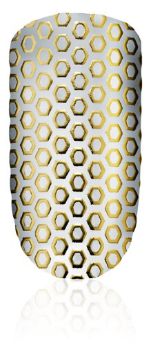 essie 12 Oh My Gold! - Nail Sticker (! Oro, Oh My Gold, 7 cm, 15,5 cm, 2 mm)