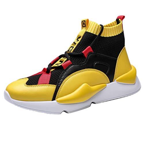Vovotrade_scarpa Running estive Uomo Scarpe Uomo Sneakers Scarpe da Ginnastica Uomo Scarpe da Corsa Uomo Sportive Scarpe - Uomo Cross Scarpe da Ginnastica