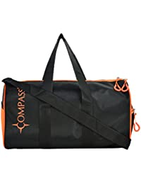 Stylish Durable Waterproof Gym Bag Cum Light-weight Duffle Bag For Men And Women With Side Pockets (comes With... - B06XWW67PM