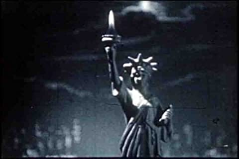 Vintage Statue of Liberty Films DVD: 1960s Famous American Landmarks: Liberty Island & The Statue of Liberty World Monument History Pictures Films