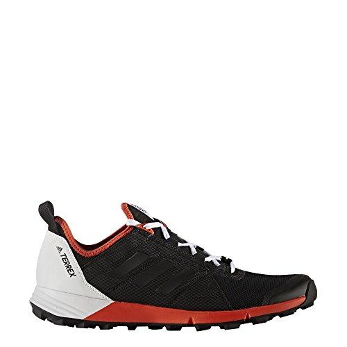adidas Terrex Agravic Speed, Botas de Montaña para Hombre, Negro (Nero Negbas/Negbas/Energi), 42 EU