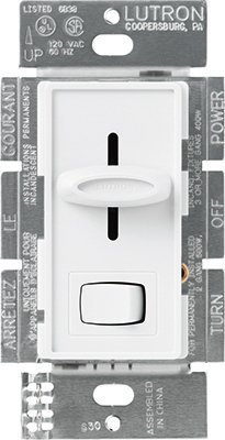 600W Slide Dimmer Switch (Pack of 3) by Lutron