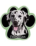 Dalmatian Non Slip Paw Shaped Mouse Pad