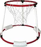 ONLY Schwimmender Basketballkorb, für Das Schwimmbecken, Korb & Netz