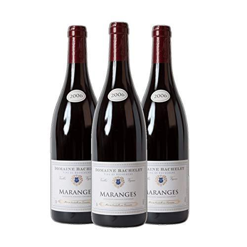 Maranges AC - Domaine Bachelet Bourgogne Rotwein Frankreich Burgund 2010 trocken (3x 0.75 l)