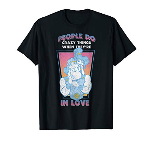Disney Hercules Megara Vintage Love Quote Graphic T-Shirt (Disney Hercules Megara)