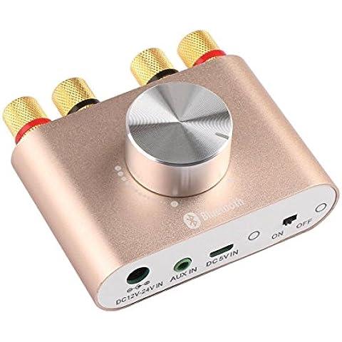 WINGONEER TPA3110 30W * 2 Dos canales mini estéreo de audio inalámbrico Bluetooth Amplificador de Señal Digital Power Amp para Tablet PC Portátiles Smartphone ect - Oro