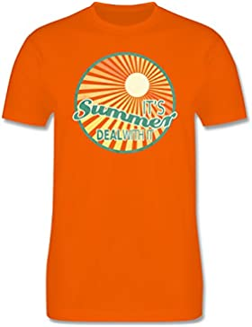 Up to Date Kind - It's summer deal with it - Kinder T-Shirt