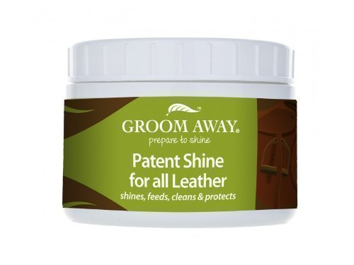 Groom Away Patent Shine For All Leather - 200G - leaves a non slippery shine that lasts for weeks not hours 1
