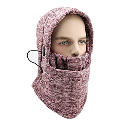 XIAXIACP Windproof Hat, Multifunktionale Cationic Kapuzenhut Maskierte Kappe Outdoor für Männer und Frauen Wasser-Riding Multifunktionshut,8