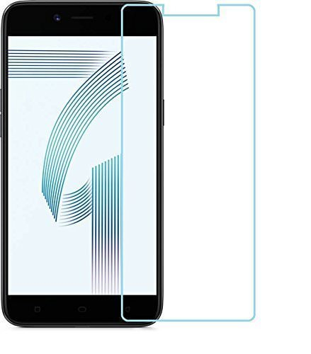 [Sponsored]SAVD Premium Full Screen Edge To Edge Coverage 2.5D Curved HD+ Tempered Glass Screen Guard Protector For OPPO A71 Transparent