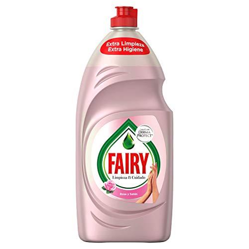 Fairy Limpieza Cuidado Líquido Lavavajillas Rosa