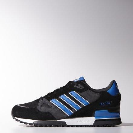 adidas Originals ZX 750 - Sneaker, Nero, Taglia 43 1|3
