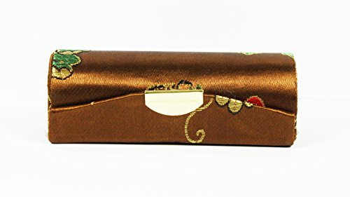 one-dark-bronze-floral-seide-brokat-lippenstift-halter-fall-mit-gold-grun-rot-lila-seide-stickerei-s