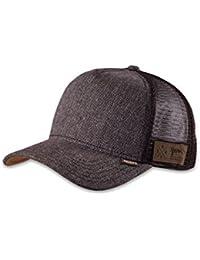 DJINNS - Spotted Tweed 2013 (brown) - High Fitted Trucker Cap