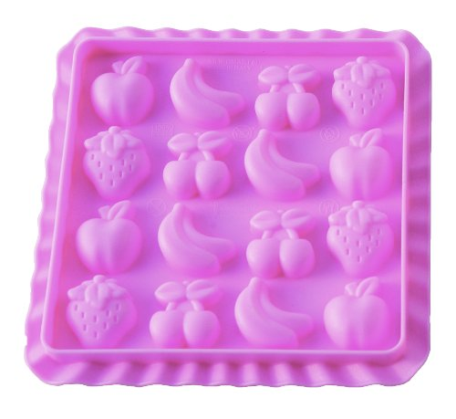 Silikomart 199259 Bonbonform Easy Candy Tutti Frutti inklusive Rezeptbuch