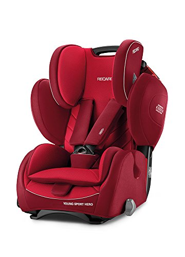 Recaro 4031953060939 Kinderautositz Young Sport Hero, rot