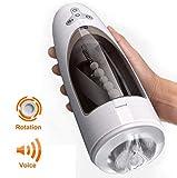 Flexible Toys Tazza di pistone automatica maschio intelligente che succhia 400Times / Min e 10 modello elettronico Masge Cup Toy maschio