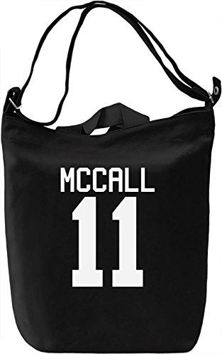 Scott McCall's Jersey Leinwand Tagestasche Canvas Day Bag| 100% Premium Cotton Canvas| DTG Printing| (Scott Vintage-jersey)