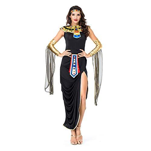 (YaXuan 2018 Sexy Göttin Halloween Cosplay Ägyptische Göttin Bühnenshow Kleidung Karneval Festival/Urlaub Halloween (Farbe : Picture Color, Größe : One Size))