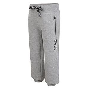 Skechers – Pantalones de chándal para niños y niñas con puños elásticos