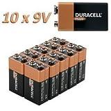 Duracell MN1604 OEM (9V, E-Block, 10er-Pack)