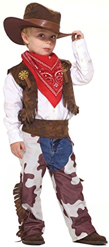 Kostüm Cowboy 2t - Forum Novelties, Inc Toddler Cowboy Fancy Dress Costume Toddler (2T-3T)