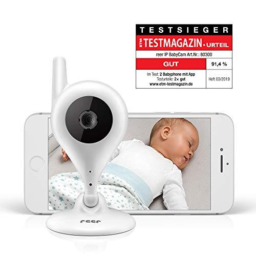 reer Video-Babyphone und IP Kamera BabyCam, einfache Einrichtung, Steuerung per kostenloser App