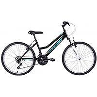 """Biocycle Duna susp 26"""" Bicicleta de Montaña, Mujer, Negro, M"""