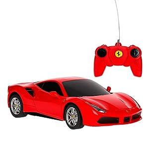 Rastar - Coche radiocontrol Ferrari 488 GTB, Escala 1:24 (41254)