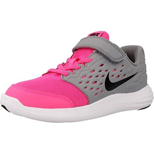 Nike Lunarstelos (Psv), Scarpe da Corsa Bambina Rosa (Pink Blast / Black-Stealth-White)