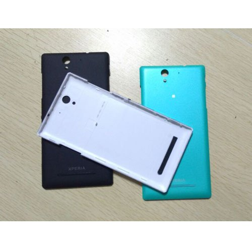 XMY Original Battery Batterie Back Door Cover Case + Screen for Sony Xperia C3 D2533 Colour Green COLOR NEW Batterie Back Door Cover Case