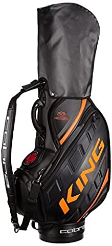 King Cobra Ltd Staff Sac de golf Noir/Orange