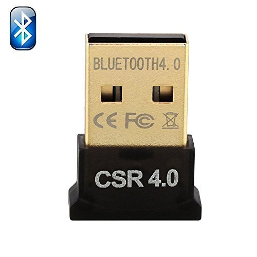 Preisvergleich Produktbild Homelink Mini-Bluetooth 4.0-USB-Adapter / Kopierschutzstecker, für PC/Laptop, viereckig, kompatibel mit Window XP / Vista / 7 (32-Bit und 64-Bit), 8 (32-Bit und 64-Bit), schwarz