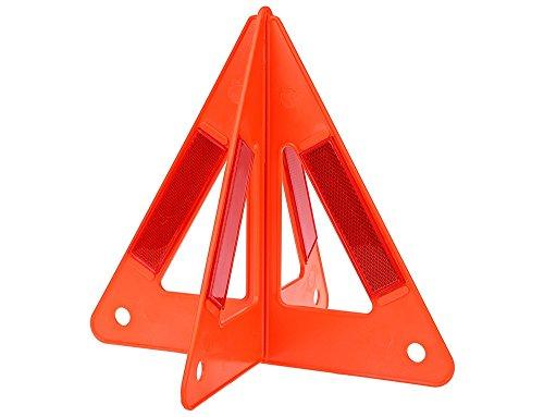 Pannen Notsicherheits Warndreieck . Reflektierende Straße Gefahr voraus