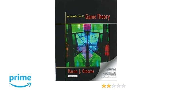 Martin Osborne An Introduction To Game Theory Pdf