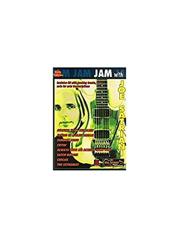 Jam With Joe Satriani. Sheet Music, CD for Guitar Tab(with Chord Symbols)