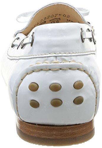 Sioux Lovina-151, Mocassins femme Blanc - Blanc