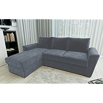 CORNER SOFA BED WITH STORAGE: Amazon.co.uk: Kitchen & Home