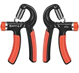 Best Grip Strengthener And Adjustable Hand Exercisers - MOGOCO Hand Grip Strengthener Adjustable Resistance 11-132 Lbs Review