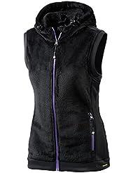 White Season Mujer Ropa Chaleco, otoño/invierno, mujer, color Negro - negro, tamaño 40 [DE 38]