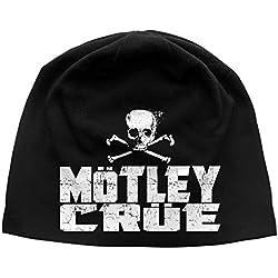 Mötley Crüe Jersey Beanie # 4 - Gorra, diseño de Calavera
