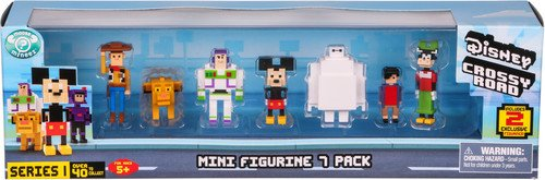 Disney Crossy Road Mini Figures - 7 Pack lowest price
