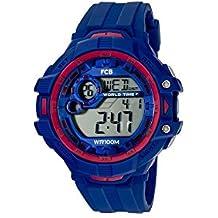 339a5d809bbb Radiant Reloj Hombre de Digital con Correa en Caucho BA07601