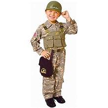 Dress Up America - Disfraz de soldado de las Fuerzas Especiales para niños (544-M)