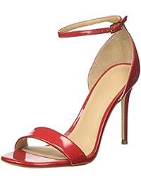 Sandali Donna Da Scarpe Borse E it Rosso Amazon qECa4x1wx