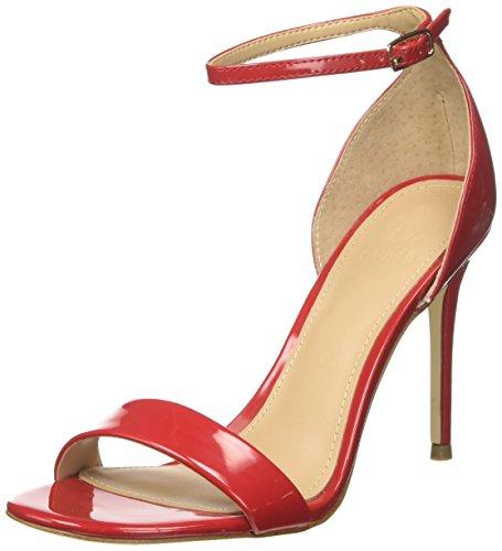 Guess Damen Footwear Dress Sandal Riemchen Pumps, Rosso (Medium Red), 37 EU