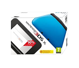Console Nintendo 3DS XL - bleu & noir (B008EHCB76) | Amazon price tracker / tracking, Amazon price history charts, Amazon price watches, Amazon price drop alerts